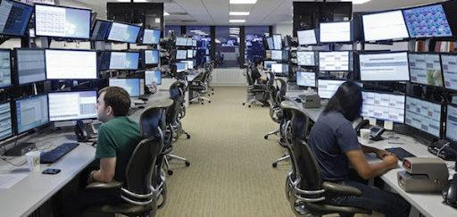 FXCM trading desk