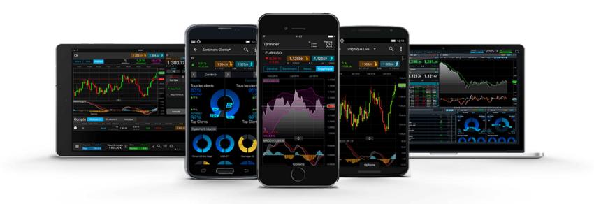 Appli mobile et tablette CMC Markets