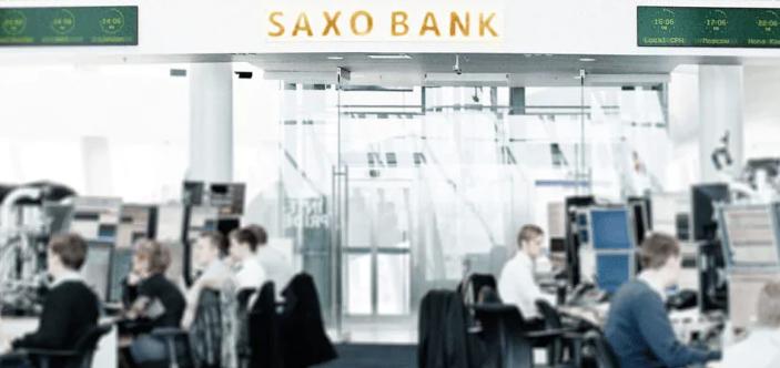 Salle de marché de Saxo Banque