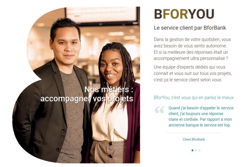 Avis sur le service client BforBank