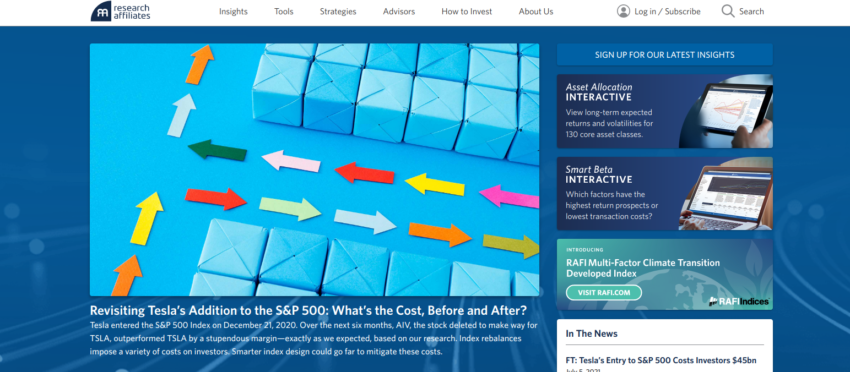 Research Affiliate : un site pour approfondir vos connaissances de la bourse